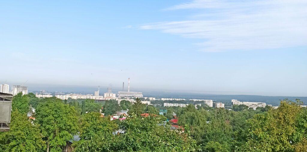 Вид на Ульяновскую промзону